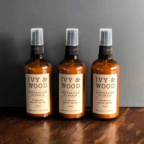 Australian Florals Room Spray - Ivy & Wood - Australian Made