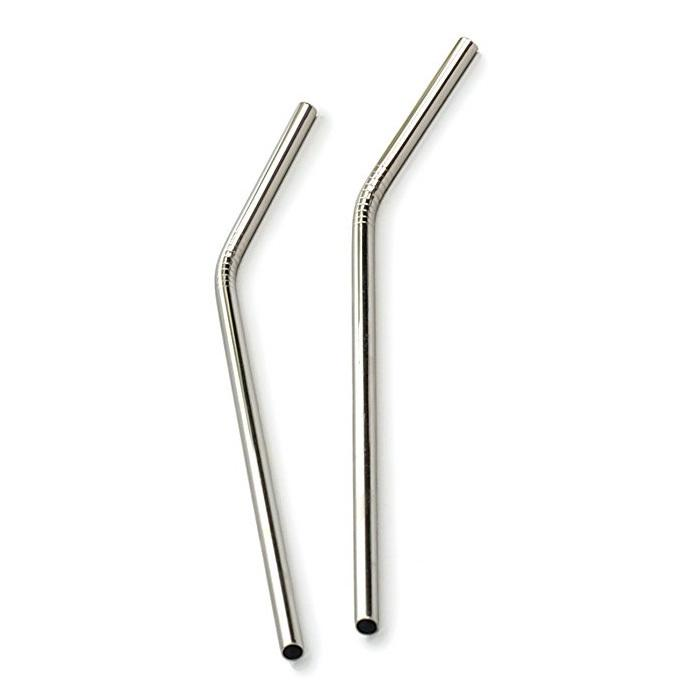 Stainless Steel Drinking Straw and Cleaning Brush - Ivy & Wood - Australian Made