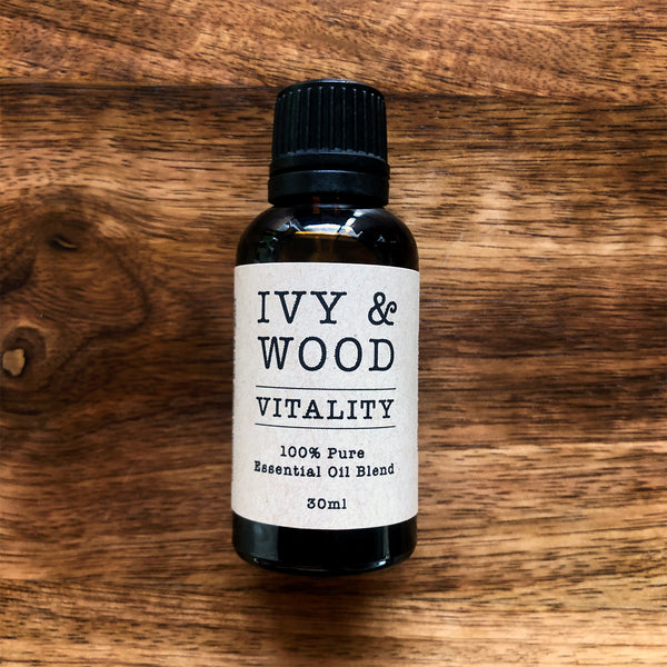 Vitality Blend Pure Essential Oil 30ml - Ivy & Wood - Australian Made