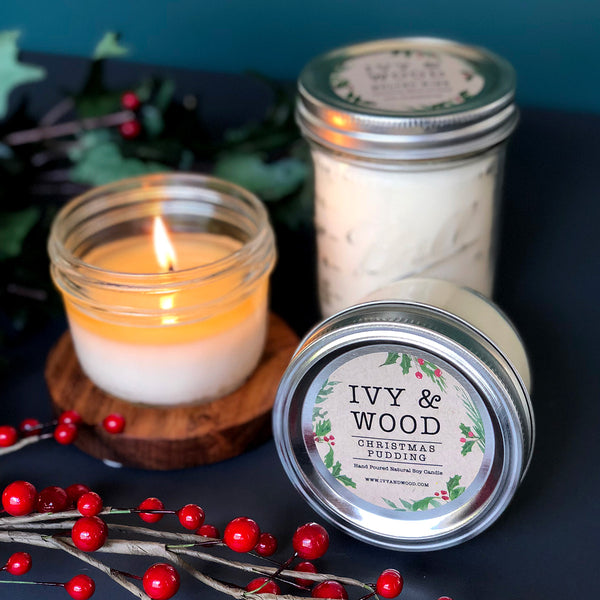 Christmas Bush: Christmas Limited Edition Mason Jar Soy Candle