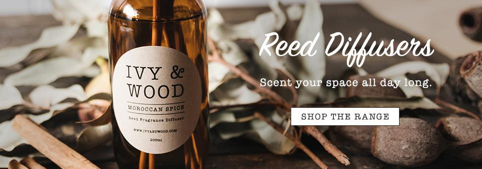 Ivy & Wood Reed Diffusers