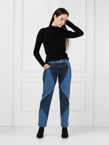 Jeans Mini Flare Wall Street Kitty