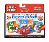 Water Wow! Splash Cards On the Go Letters! Animals!