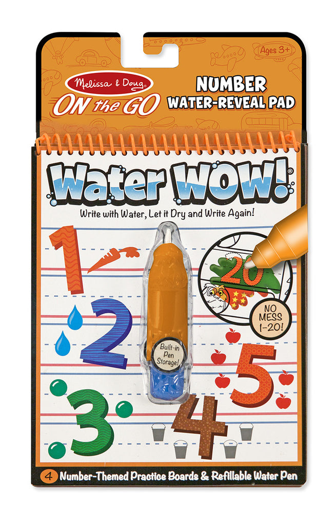 Water Wow! On the Go Numbers