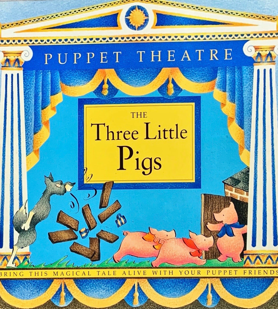 Puppet Theater : The Three Little Pigs