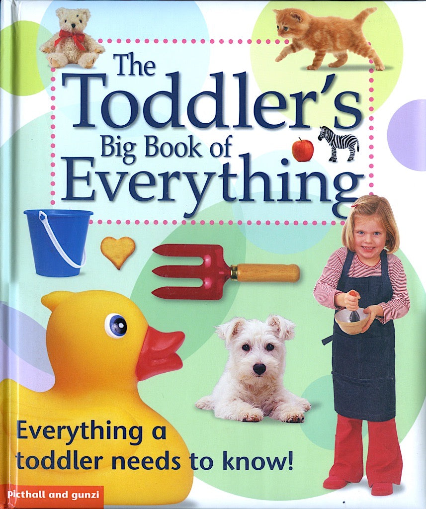 The Toddlers big book of Everything