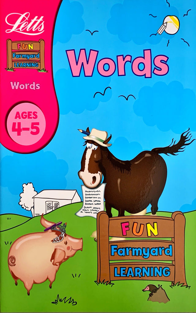 Letts Fun Farmyard Learning : Words Age 4-5