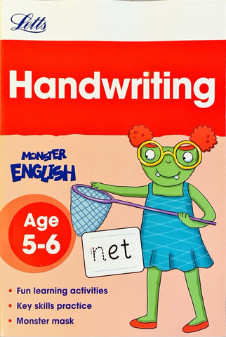 Letts Monster English : Handwriting Age 5-6