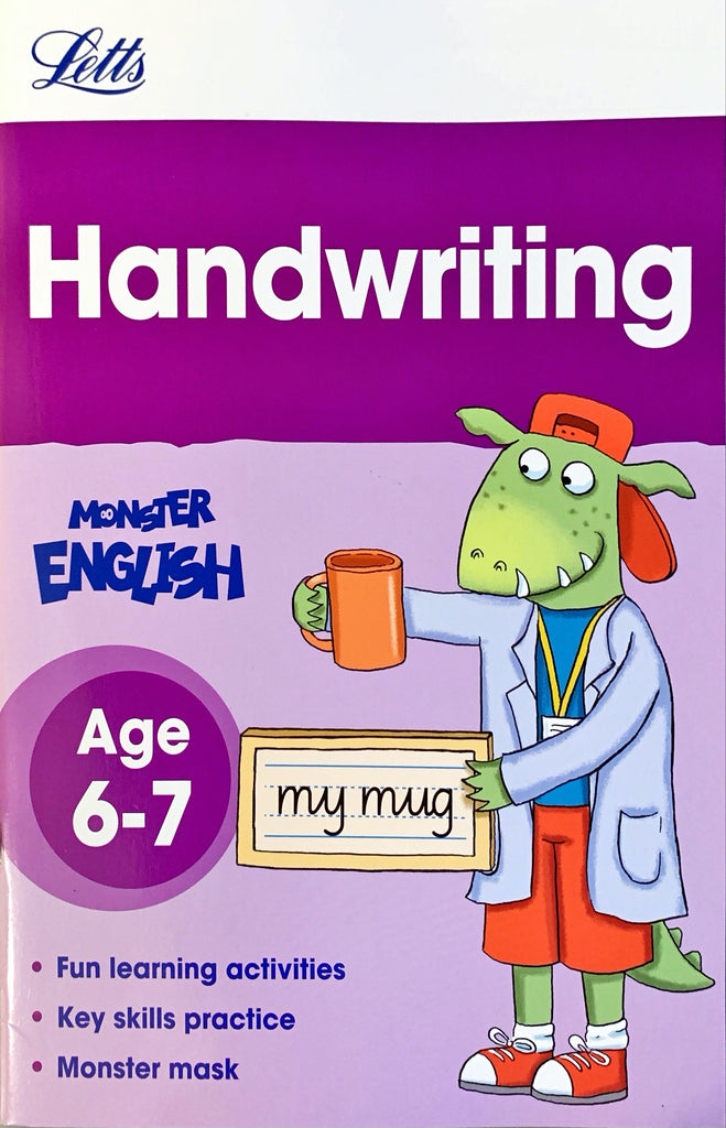 Letts Monster English : Handwriting Age 6-7