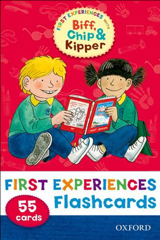 First Experience With Bif Chip & Kipper Flash Cards