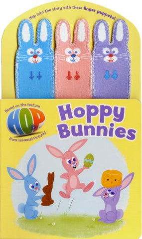 Hoppy Bunnies With Finger Puppets Board Book