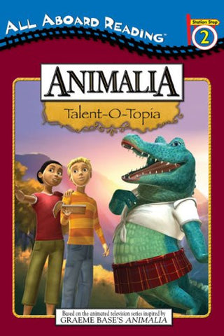 All Aboard Reading Animalia Talent O Topia