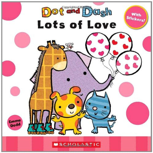 Dot And Dash Lots Of Love With Sticker
