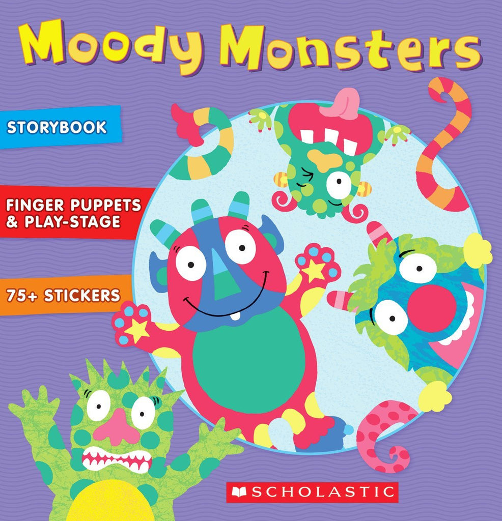 Alex Little Hands Moody Monsters