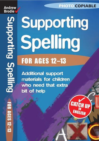 Andrew Brodie Supporting Spelling For Ages 12-13