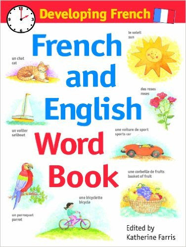 Developing French: French And English Word Book