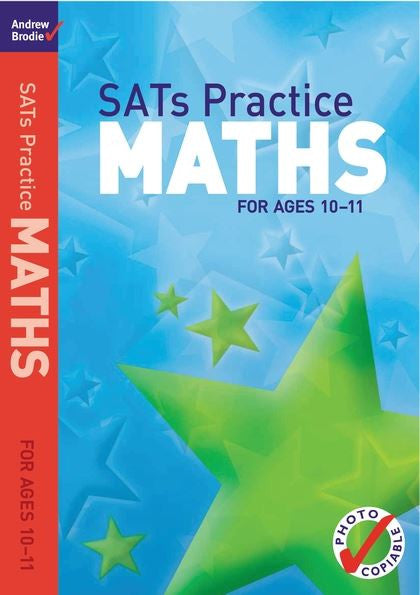 Andrew Brodie Sats Practice Maths Ages 10-11