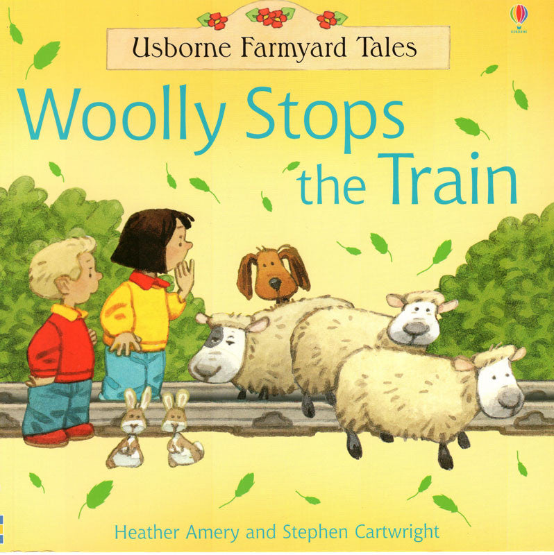 Usborne Farmyard Tales Woolly Stops The Train