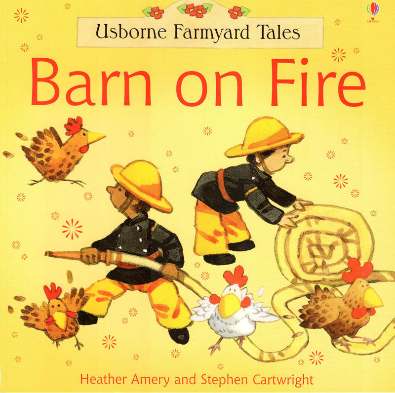 Usborne Farmyard Tales Barn On Fire
