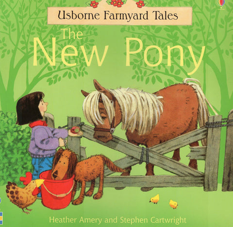Usborne Farmyard Tales New Pony