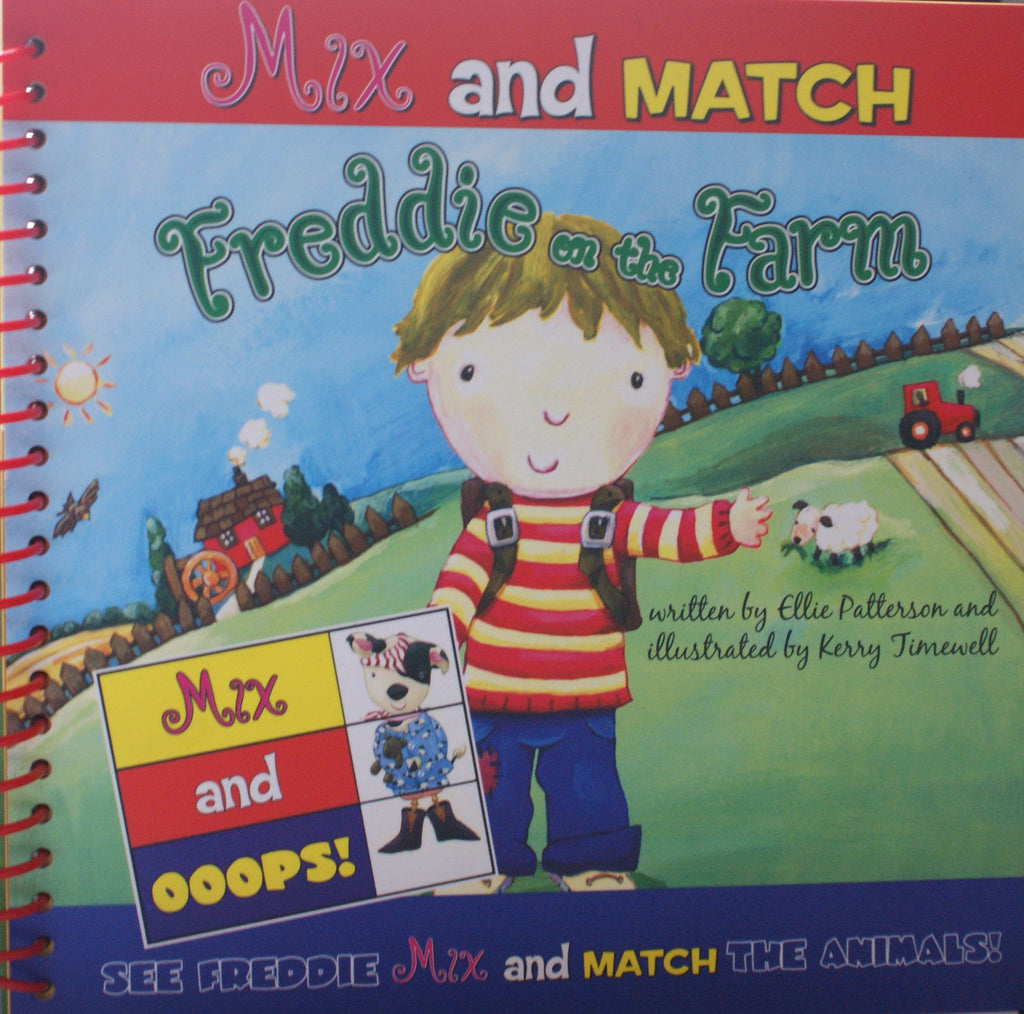 Mix And Match Freddie On The Farm