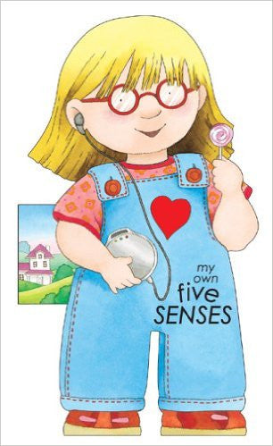 Shaped Board Book My Own Five Senses