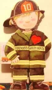 Shaped Board Book Firemans Safety Hints