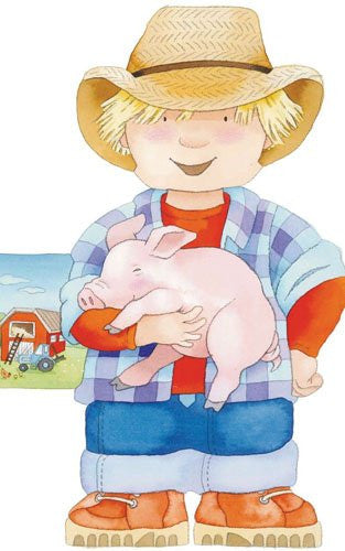 Little People Shape Board Book: Farmer