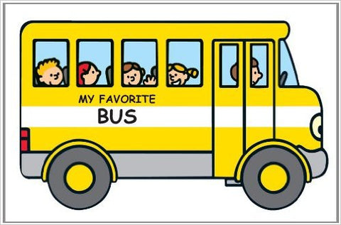 My Favorite Bus Board Book