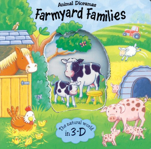 Animal Dioramas Farmyard Families 3D