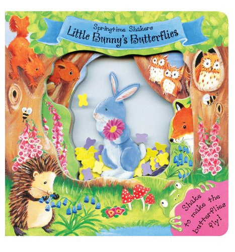 Springtime Shakers Little Bunny's Butterflies