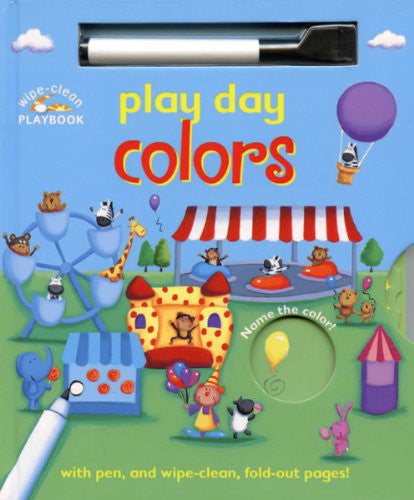 Wipe Clean Play Day Colors Barrons