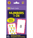 Brighter Child Numbers 1-26 Flash Cards