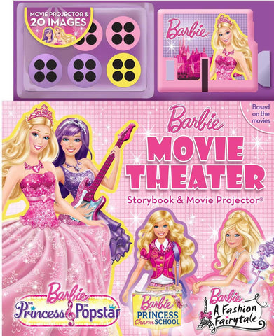 Barbie Movie Theatre Storybook and Movie Projector