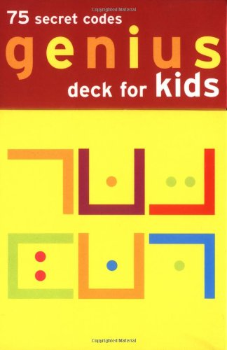 Genius Deck For Kids Secret Codes Flash Cards