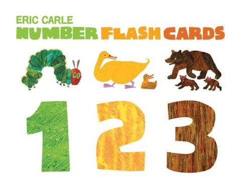 Eric Carle Number Flash Cards 123