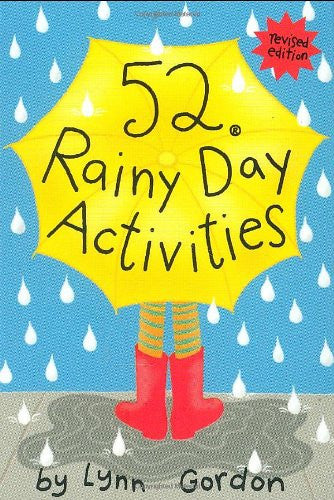 52 Rainy Day Activities Flash Cards