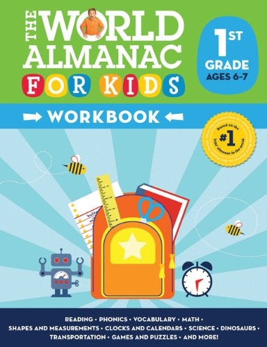 World Almanac For Kids Workbook Grade 1 Ages 6-7
