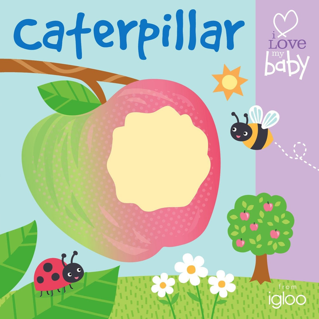 Finger Puppet Caterpillar Board Book