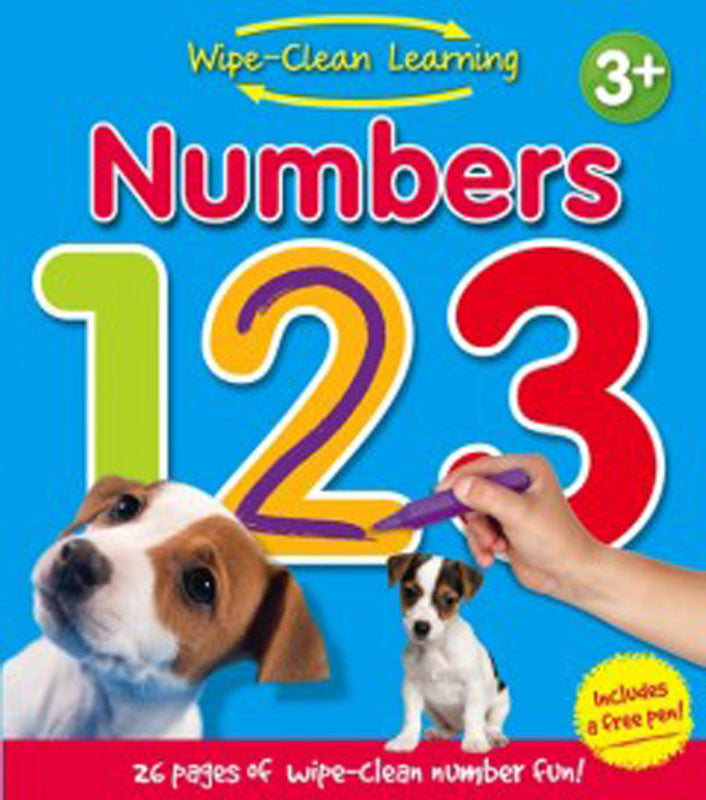 Wipe Clean Learning Numbers 123