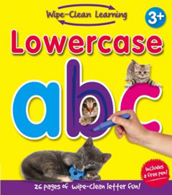 Wipe Clean Learning Lowercase abc