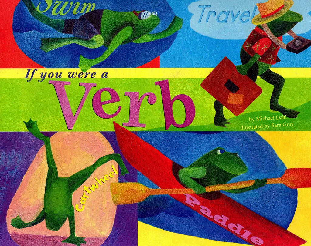 Word Fun If You Were A Verb Word