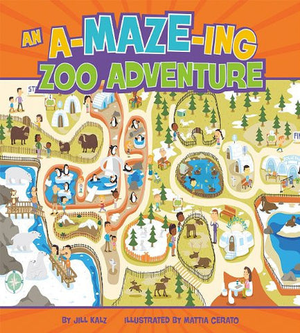 An A-Maze-ing Zoo Adventure (Hardcover)