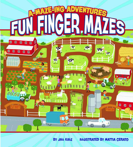 A-Maze-Ing Adventures Fun Finger Mazes (Paperback)
