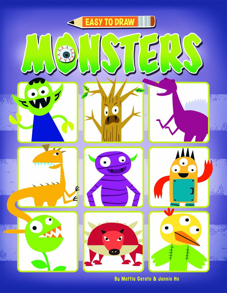 Easy To Draw Monsters