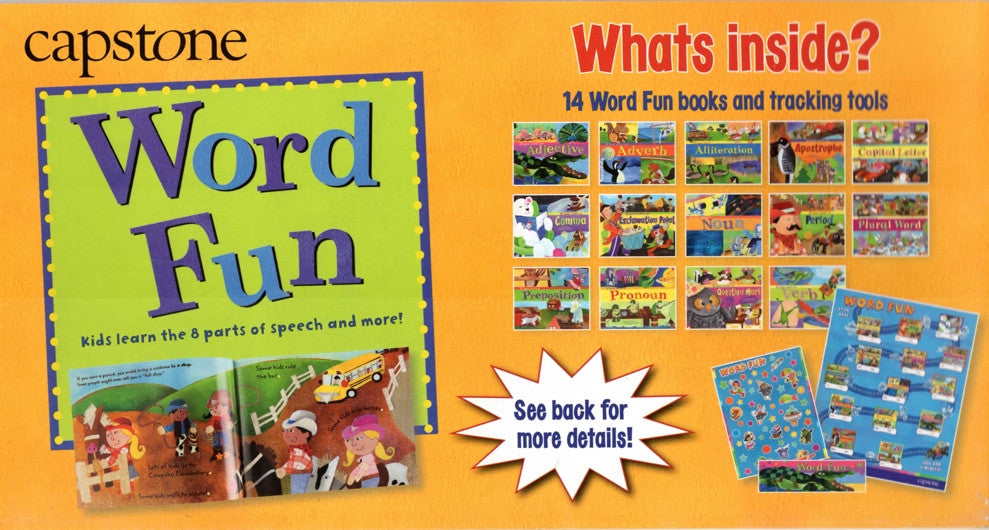 Word Fun Box Set of 14 Books