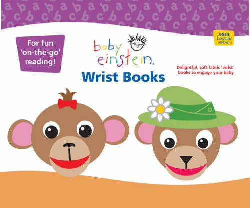 Baby Einstein Wrist Books (Set of 2)