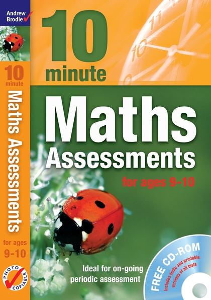 Andrew Brodie 10 Minute Maths Assessments Ages 9-10 With CD