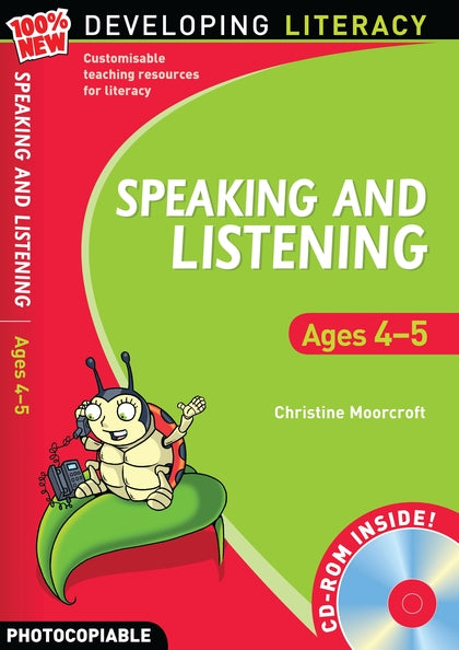 Developing Literacy Speaking & Listening Ages 4-5 with CD
