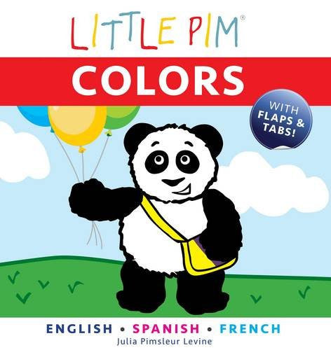 Little Pim Colours - English Spanish French